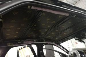 Виброизоляция, шумоизоляция и теплоизоляция крыши авто