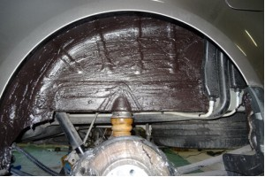 Виброизоляция, шумоизоляция и защита от коррозии арок автомобиля
