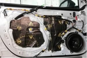 Шумоизоляция дверей авто под акустику – выбор материалов и порядок работ