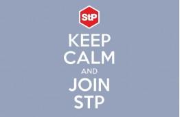 Наліпка StP «Keep calm»