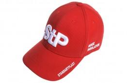 Бейсболка STP (червона)