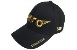 Бейсболка STP (чорна)