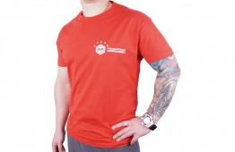 Футболка STP 3 (червона, розмір M)