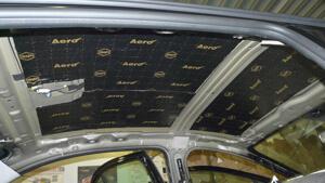 Теплоизоляция крыши авто
